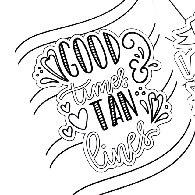 24 Fun and Free Summer Coloring Pages - Printable Crush