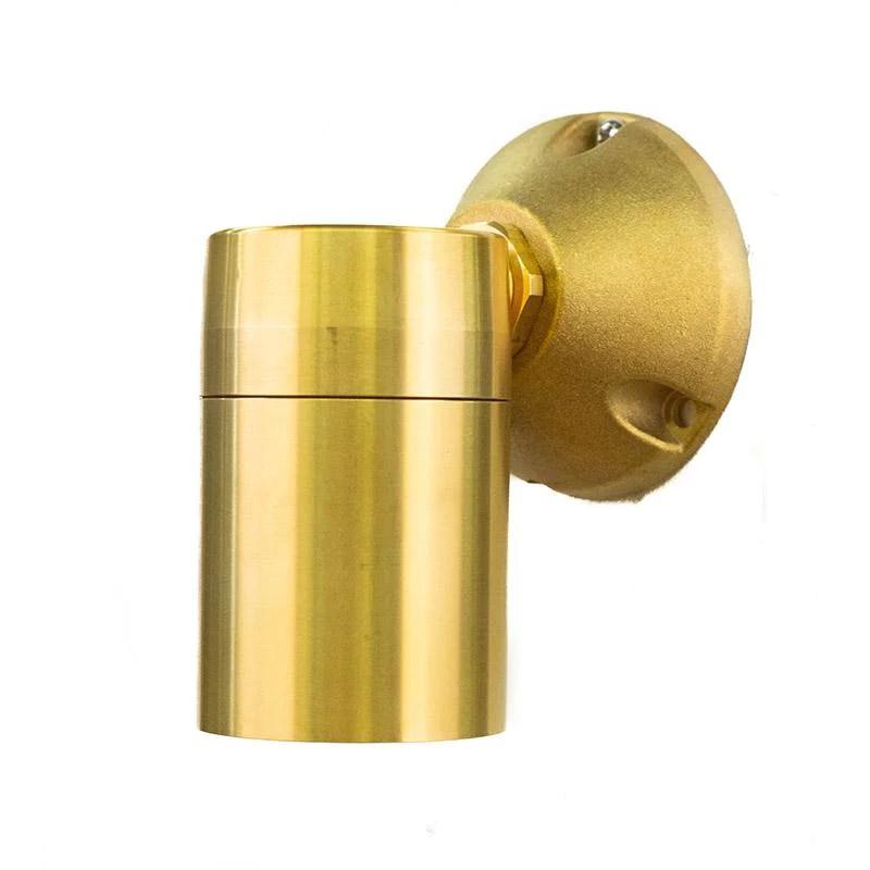 coppermoon cm 650 m 12v brass down light deep brass mount