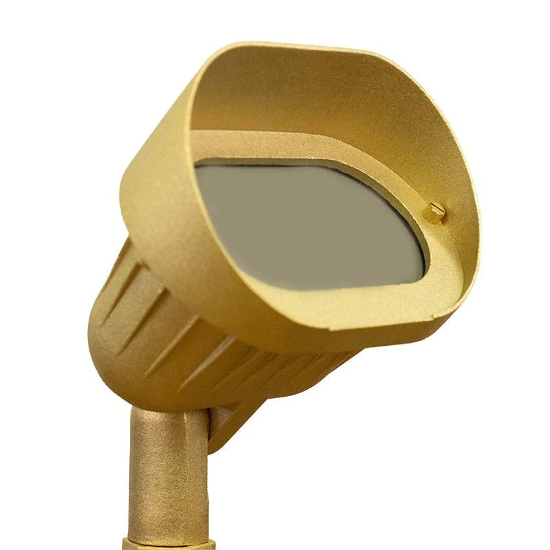 coppermoon cm 890 12v brass oval wall wash light with stake