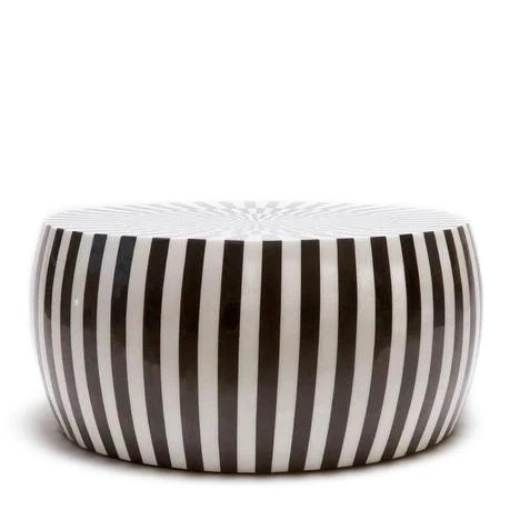 made goods janson coffee table black white