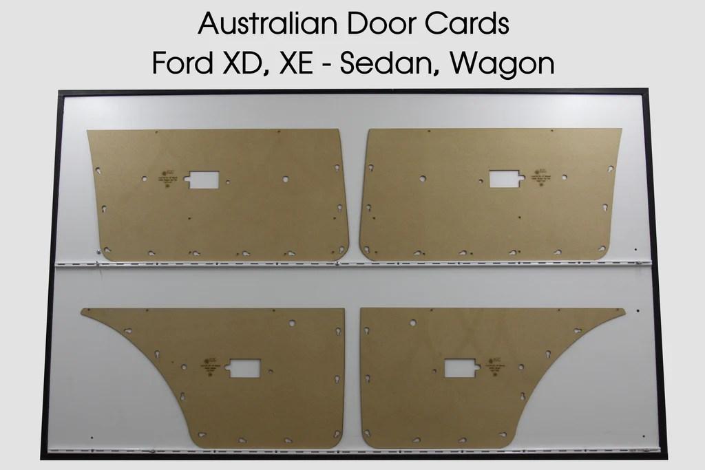 Ford Falcon XD, XE, Manual Window Door Cards - Sedan ...