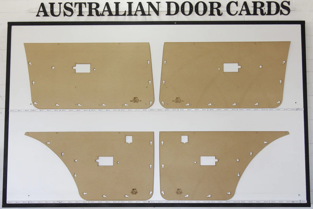 Ford Falcon XD, XE Electric Door Cards Sedan, Wagon ...
