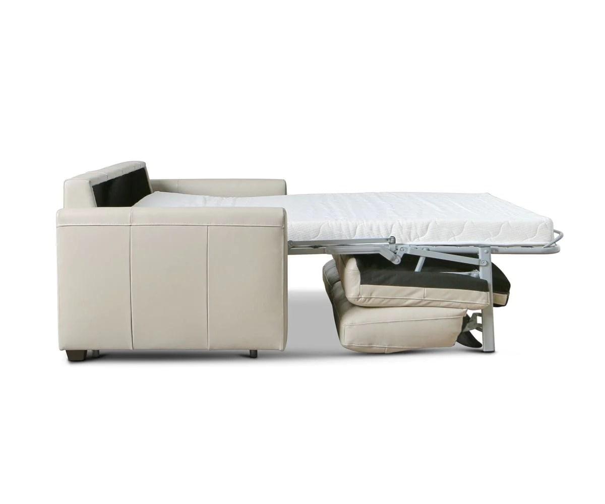 Jonas Leather Queen Sleeper Sofa Dania Furniture