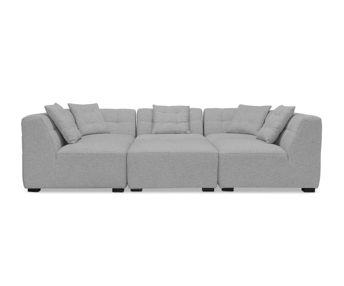 Reyes 5 Piece Modular Sectional I Scandinavian Designs