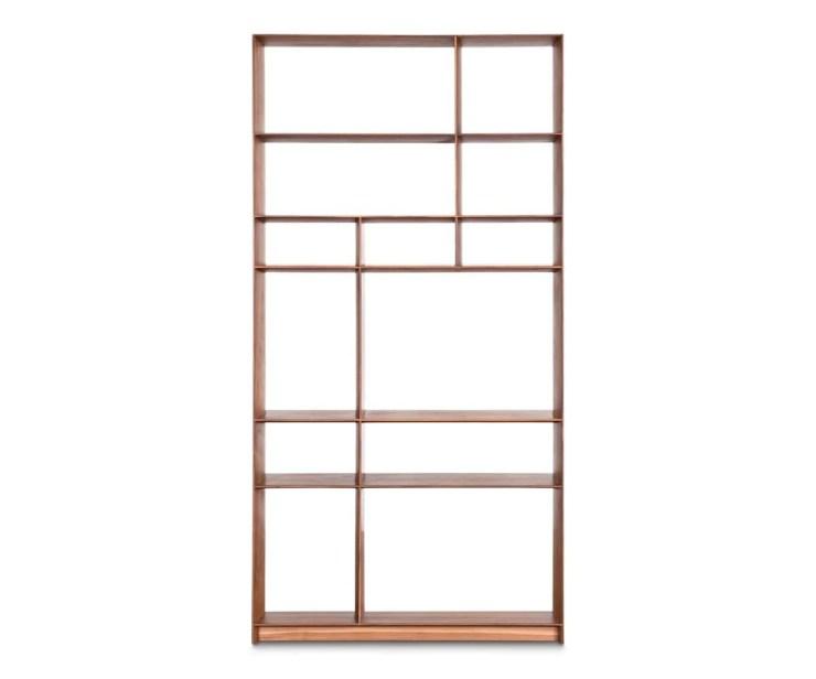 Haldi Bookcase I WALNUT - Scandinavian Designs
