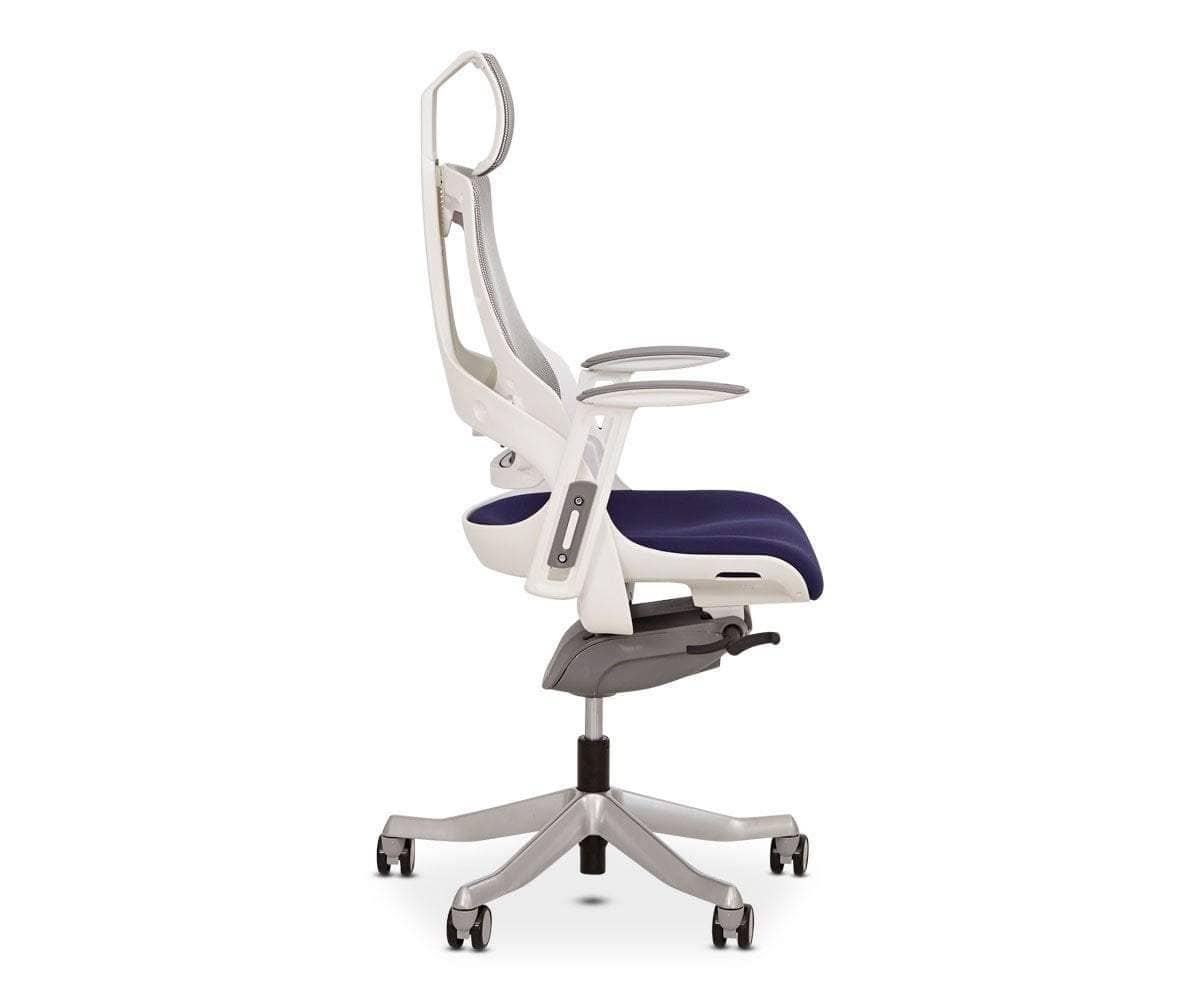 Wau Desk Chair Blue Scandinavian Designs