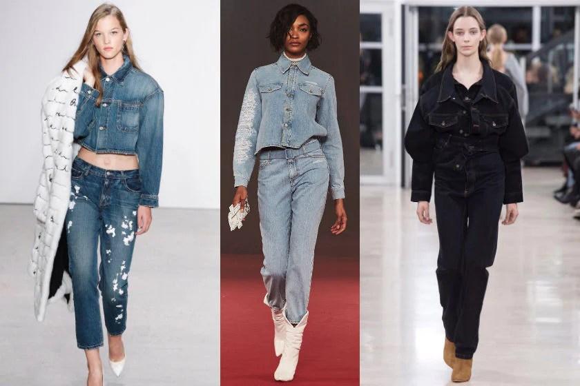 Denim fashion trend spring summer 2018