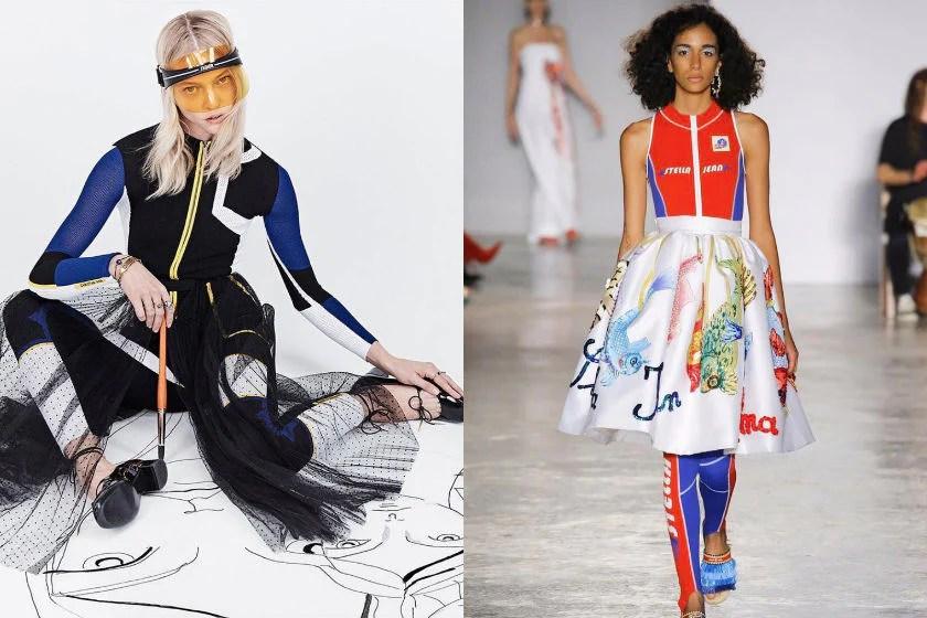 Sportswear fashion trend spring summer 2018