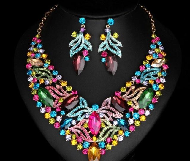 Bridal Jewelry Set Eazideal Jewelry Galore