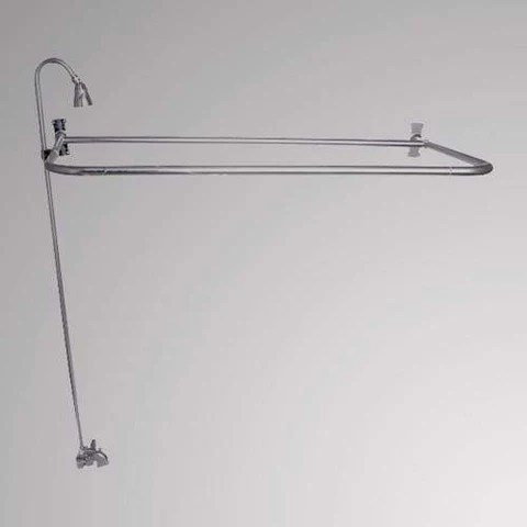 clawfoot tub showers magnus home products