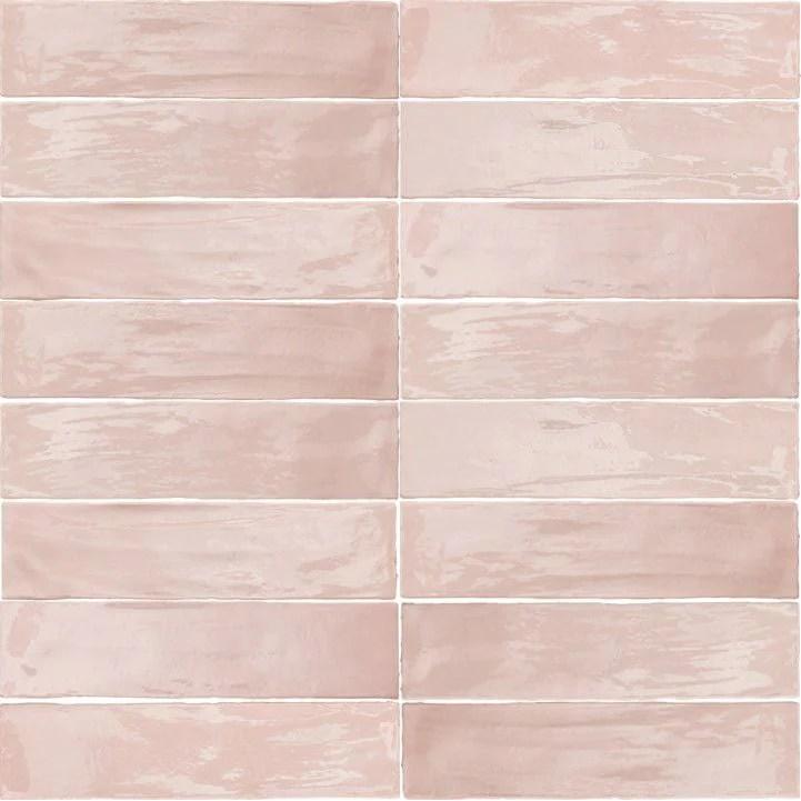 arizona tile flash 3 x 12 ceramic wall tile blush