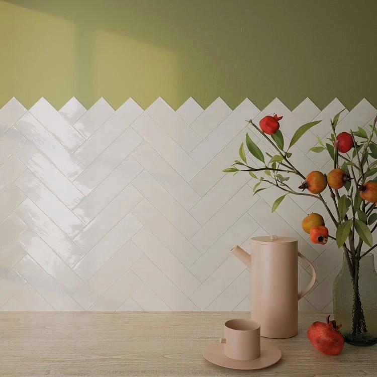 arizona tile flash 3 x 12 ceramic wall tile ivory