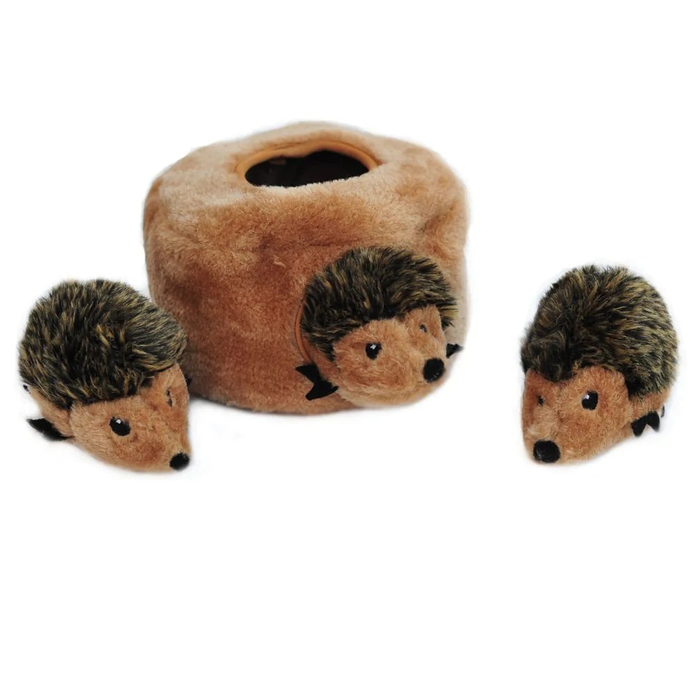 Zippypaws Hedgehog Den Dog Toy Hedgehog Dog Toys