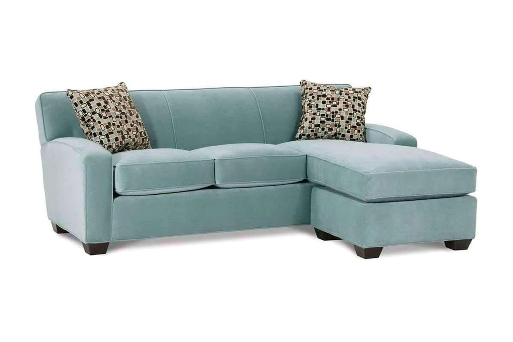 Michelle Small Fabric Sofa Sectional With Reversible Chaise