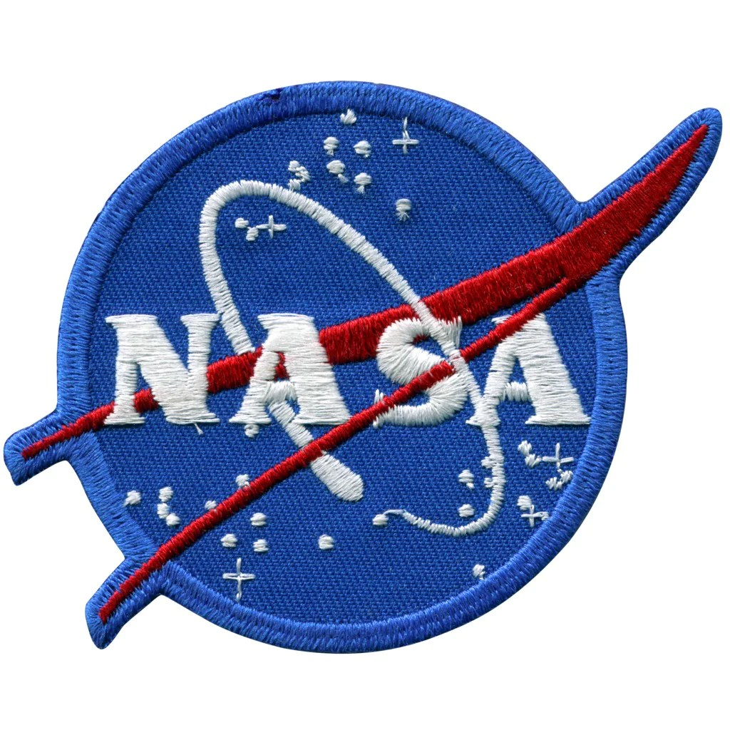 """NASA Logo Vector Patch 3"""" – Mile High Astronomy"""