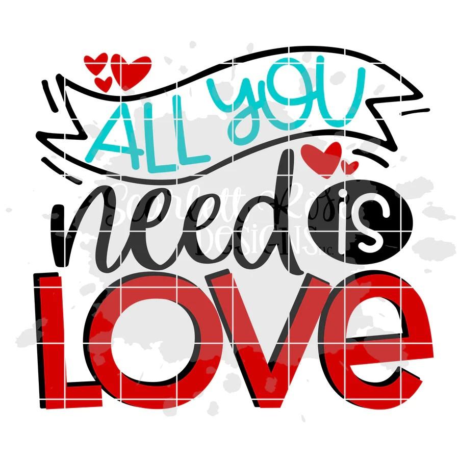 Download Valentine's Day SVG Designs - Scarlett Rose Designs