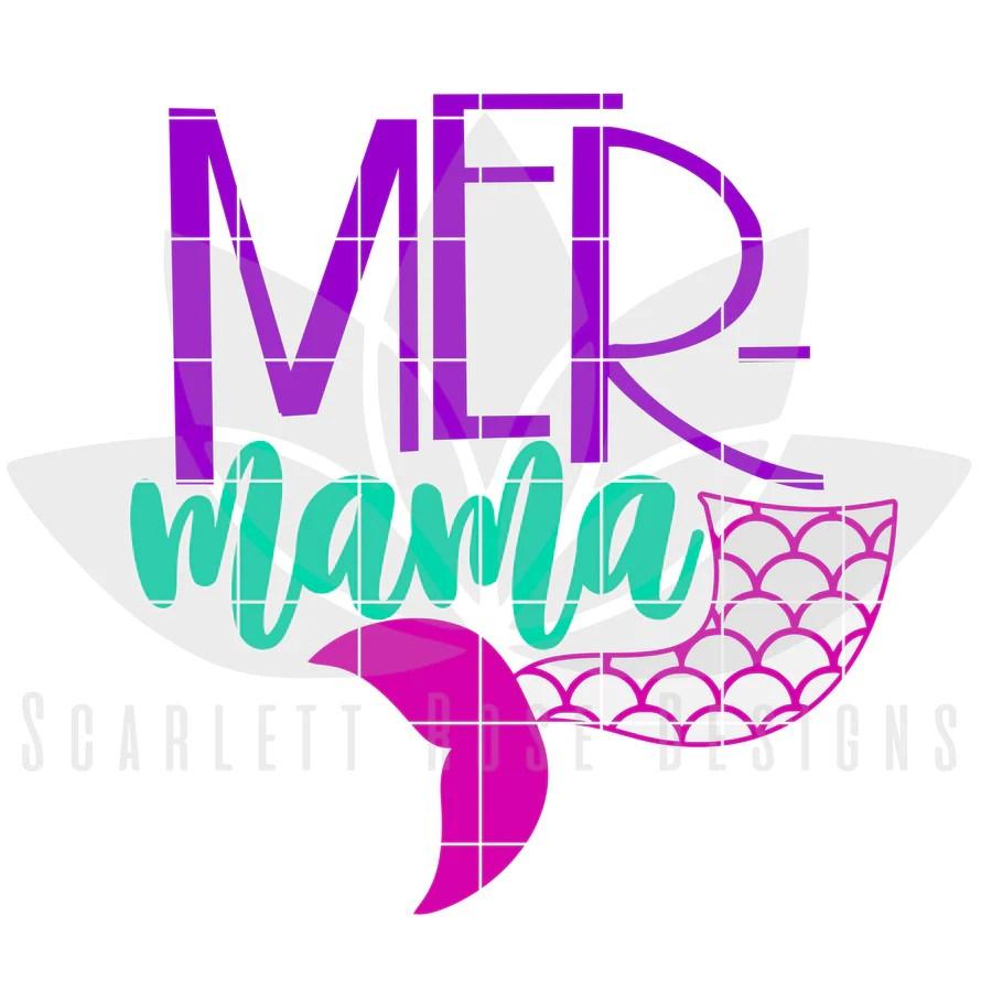 Mother's Day SVG cut file - Scarlett Rose Designs