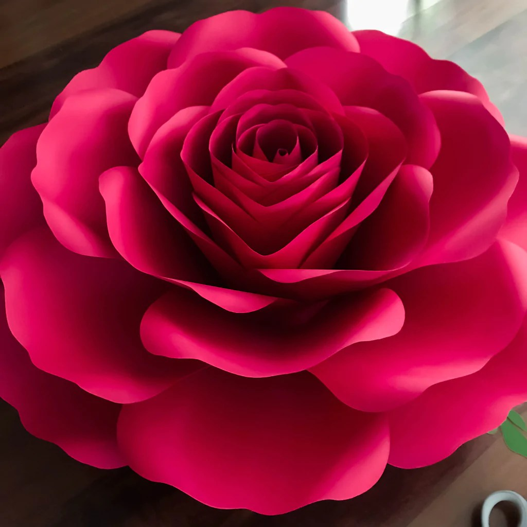 Download Free Paper Flower Templates For Cricut | Best Flower Site