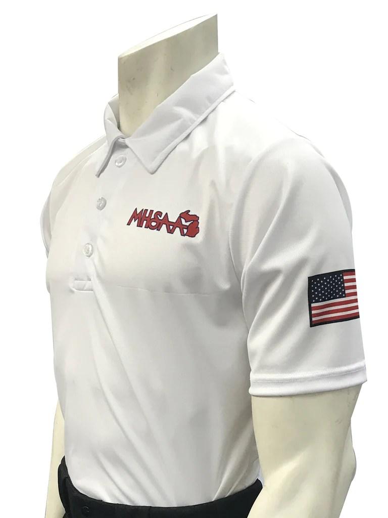 USA437MI Smitty USA Dye Sub Michigan VolleyballSwimming Shirt Correct Call Officiating