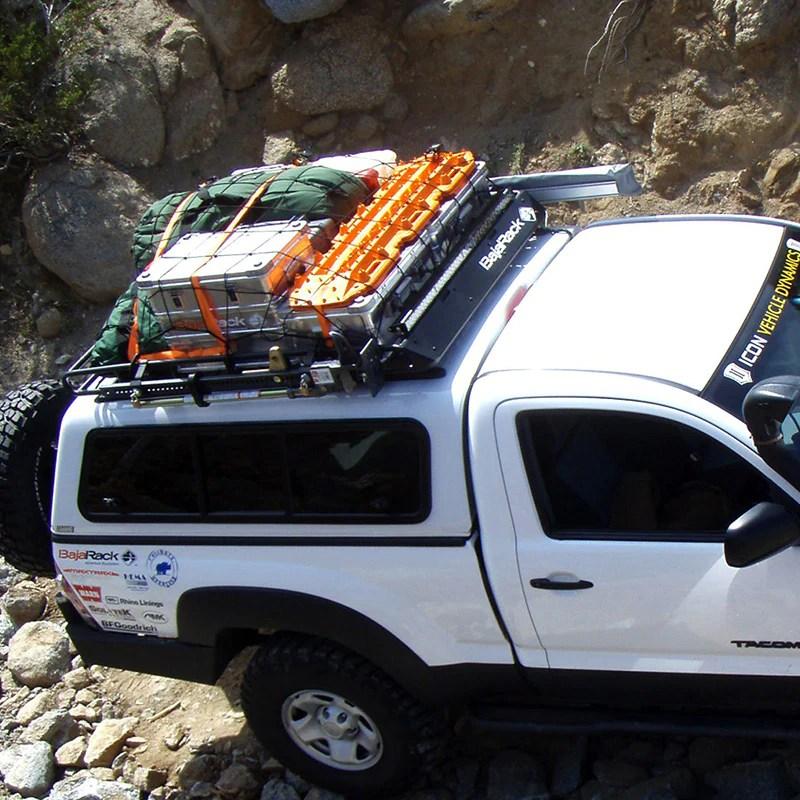 bajarack roof rack for camper shell standard
