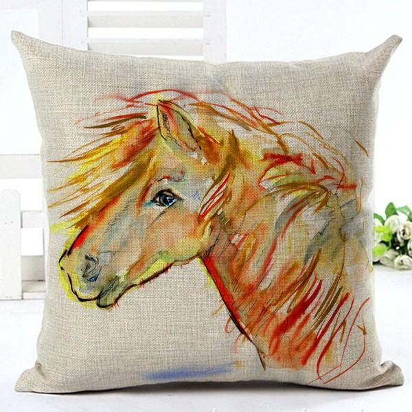 horse decorative throw pillow unbridled movie