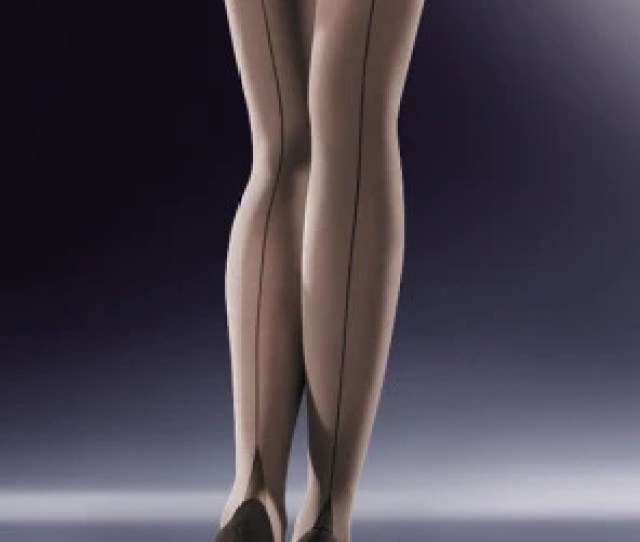 Cruze  Den Seamed Opaque Stockings By Gabriella