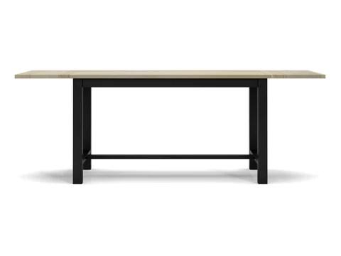 table bistro en bois massif woodstock