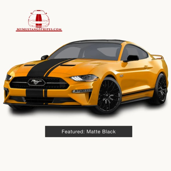 OEM 2018 Mustang Pre Cut Center Stripe with Matching Pinstripe  FULL     OEM 2018 Mustang Pre Cut Center Stripe with Matching Pinstripe  FULL K     My  Mustang Stripes