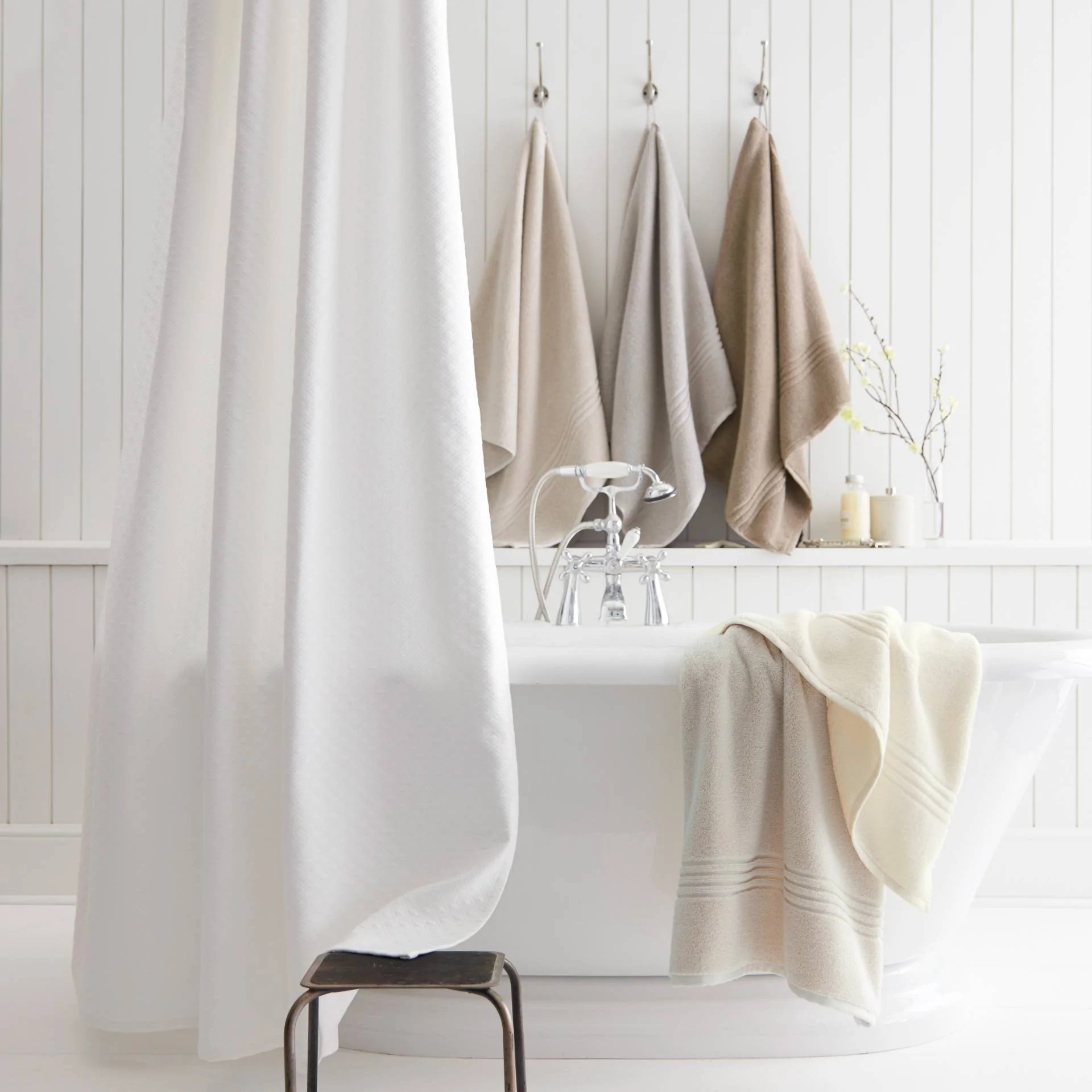 luxury shower curtains made from high