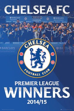 chelsea team and championship posters