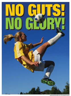 womens soccer posters sports poster