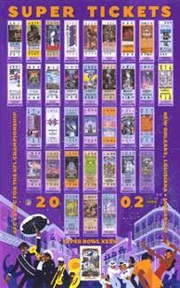super tickets xxxvi poster jan 27 action images inc