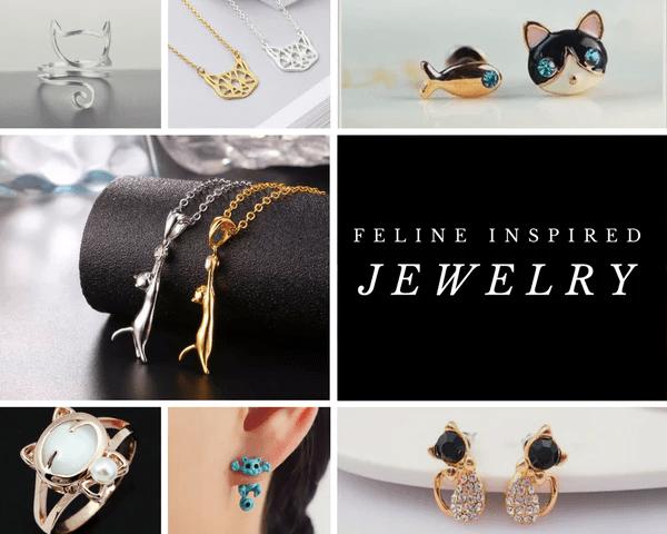 feline inspired jewelry