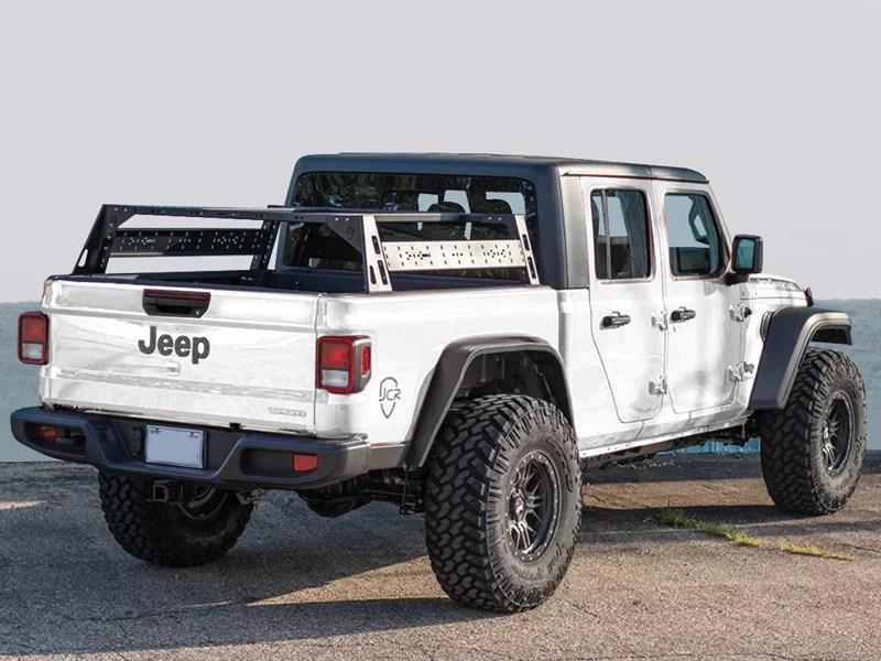 jcr offroad bed racks for 20 up jeep gladiator jt