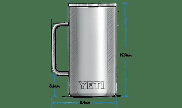 24 oz Mug with Magslider Lid (710ml) Exterior