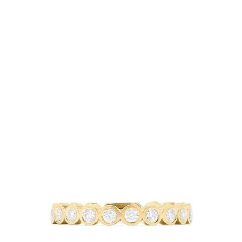 Effy D'Oro 14K Yellow Gold Diamond Ring, 0.29 TCW