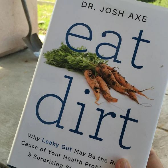 Image result for eat dirt book