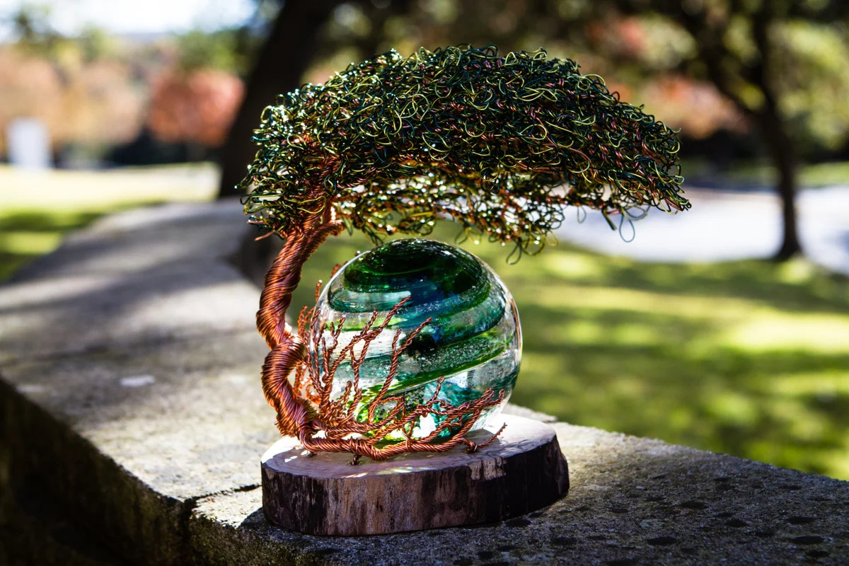 Reading Tree Of Life With Sparkle Swirl Orb With Infused