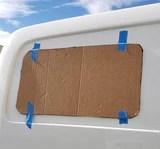 Van Window Template Installation Process