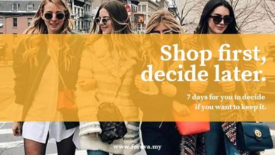 Foreva - 7 days Shop and Decide