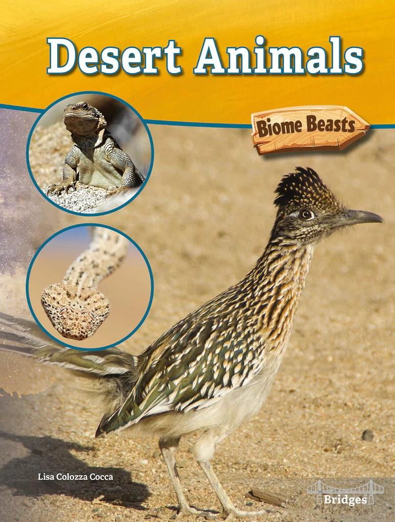 Desert Animals Hardback Rourke