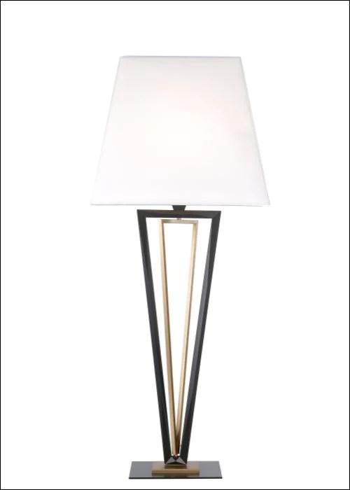 Black And Gold Art Deco Lamp Modern Art Deco Style Floor Light Italian Lighting Centre
