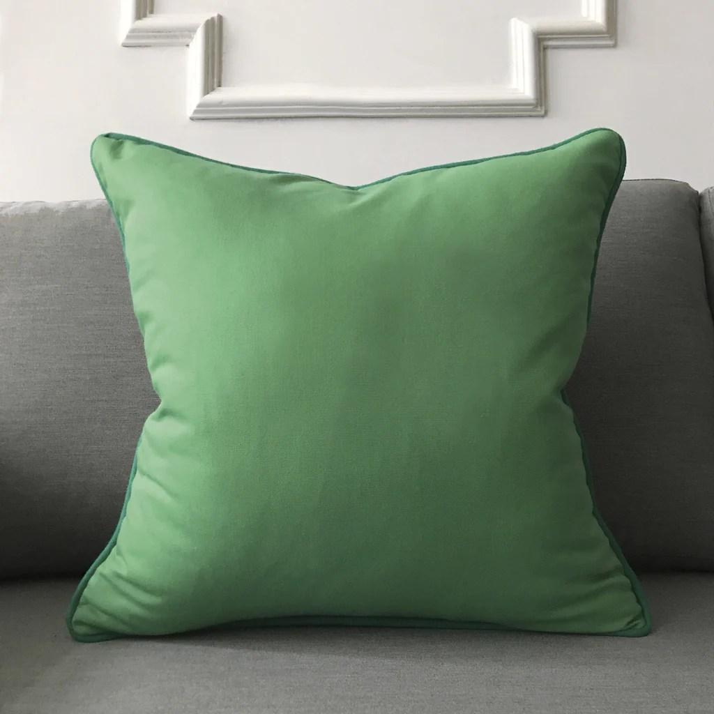 emerald green pillow covers online