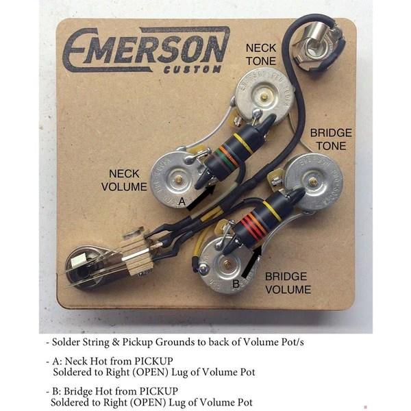 SG PREWIRED KIT – Emerson Custom