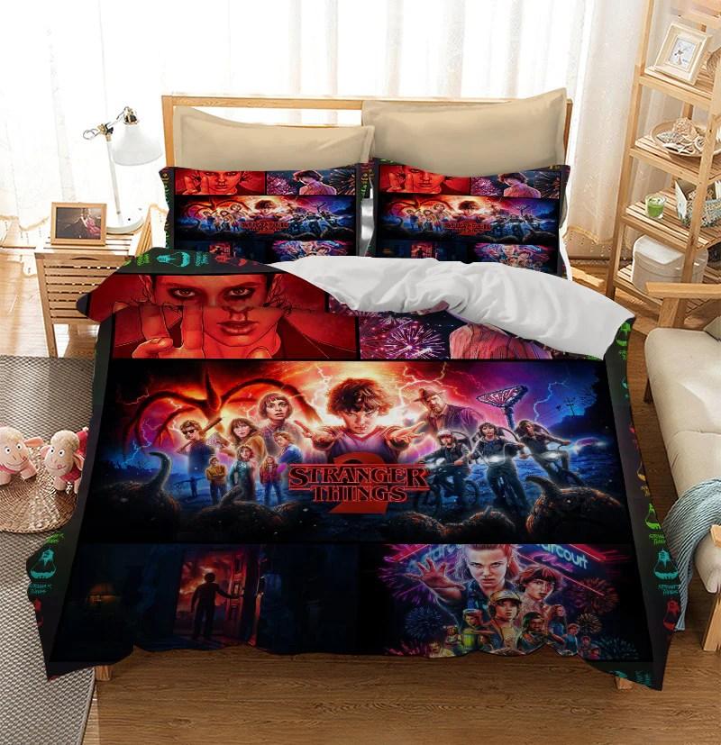 Stranger Things Custom Bedding Set Duvet Cover Itdayshop