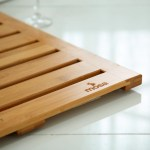 Natural Bamboo Bath Shower Mat Mosa Home