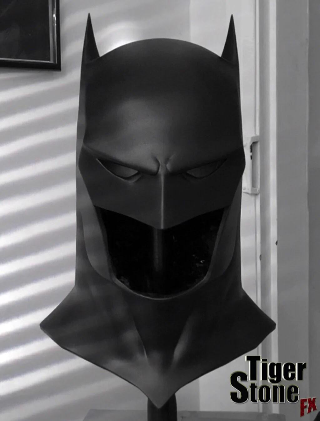 Capullo Batman Cowl The New 52 Rebirth Metal Tiger Stone Fx