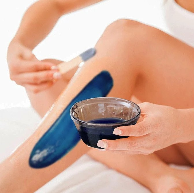 Waxing your arms