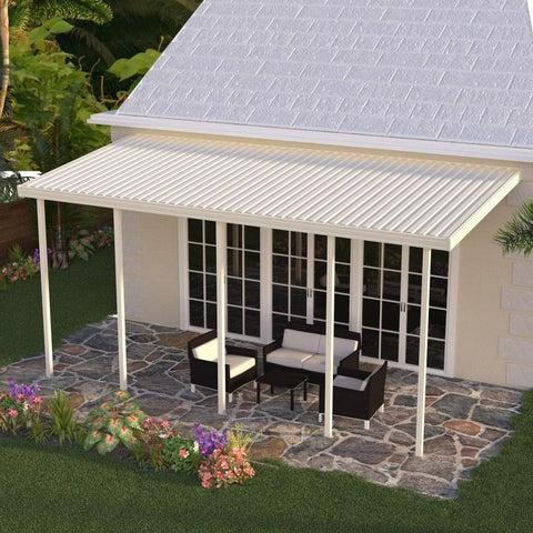 aluminum patio cover open lattice