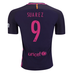 Barcelona Away 2016-17 Jersey with Suarez 9 Printing